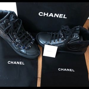 BNIB! 100% authentic Chanel sneakers size 7